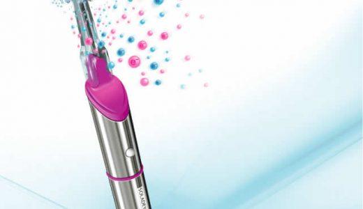【音波振動式ソーラー歯ブラシ】 ソラデーリズムは歯垢除去効果抜群!!歯と歯茎の健康を守ります。