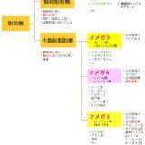 飽和脂肪酸と不飽和脂肪酸 オメガ3 6 9