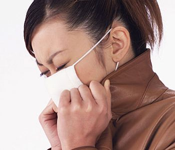 現在インフルエンザ警報中。