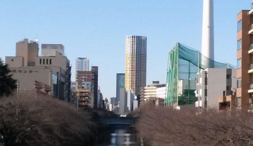 目黒川沿いを散歩