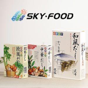 スカイフード・四季彩々だしシリーズを使って、簡単で美味しい、健康鍋を作りましょう♪