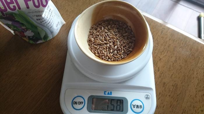 スーパー大麦を計測